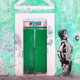 ¡Viva Mexico! Square Collection - Main entrance Door Closed VI