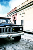 ¡Viva Mexico! Collection - Old Black Jeep and Colorful Street V