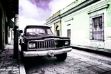 ¡Viva Mexico! Collection - Black Jeep and Colorful Street IV