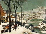 The Hunters in the Snow Giclée par Pieter Bruegel The Elder