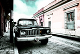 ¡Viva Mexico! Collection - Black Jeep and Colorful Street V