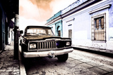 ¡Viva Mexico! Collection - Black Jeep and Colorful Street VI