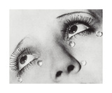 Glass Tears, 1932 Reproduction d'art par Man Ray