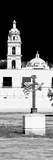 ¡Viva Mexico! Panoramic Collection - Courtyard of a Church in Puebla
