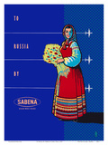 To Russia By Sabena - Sabena Belgian World Airlines