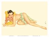 Varga Girl - June, 1943 Reproduction d'art par Alberto Vargas