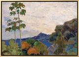 Martinique Landscape  1887 (Detail)