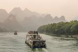 Cruising on the Li River  Guilin  China