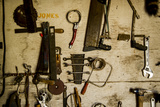 Washington State  Palouse  Whitman County Pioneer Stock Farm  Tools Inside Farm's Shop