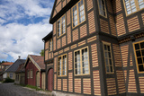 Norway  Oslo  Historic Wooden Town House