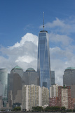 New York  New York City Downtown City Skyline with the Freedom Tower