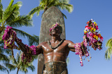 Duke Paoa Kahanamoku  Waikiki Beach  Honolulu  Oahu  Hawaii