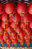 Singapore  Chinatown  Thian Hock Keng Temple  Chinese Red Lanterns