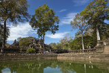 Pool and Baphuon Temple  Angkor Thom Temple Complex  Angkor World Heritage Site
