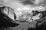 Yosemite Valley from Tunnel View  California  Usa
