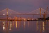 Georgia  Savannah  Talmadge Memorial Bridge at Dawn