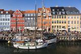Denmark  Zealand  Copenhagen  Nyhavn Harbor