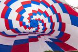 Inside an Inflating Balloon at the Albuquerque Balloon Fiesta in Albuquerque  New Mexico  Usa