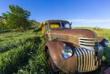 Old Feed Truck Near Medora  North Dakota  Usa