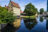 Little Pond in the Old Town  Aarhus  Denmark