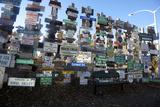 The Yukon's Watson Lake Sign Post Forest  Watson Lake  Canada