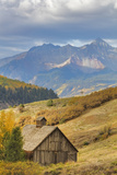 Weathered Wooden Barn Near Telluride in the Uncompahgre National Forest  Colorado  Usa