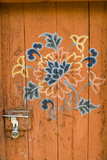 Ornamented Door  Chimi Lhakhang  Bhutan