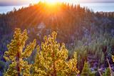 Nevada  Lake Tahoe at Sunset