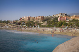 Spain  Canary Islands  Tenerife  Costa Adeje  Playa Del Duque  Elevated View