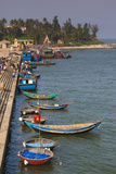 Vietnam  Dmz Area Quang Binh Province  Cua Tung Beach  Waterfront  Elevated View