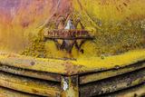 Rusty Old Truck Details Near Salmo  British Columbia  Canada