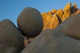 California Joshua Tree National Park Jumbo Rocks at Sunset
