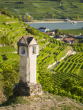 Wayside Shrine Near Old Town Gate Rote Tor in the Village Spitz  in the Vineyards of the Wachau