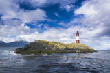 Lighthouse   the Beagle Channel  Ushuaia  Tierra Del Fuego  Argentina  South America
