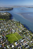 Green Bay Domain  Green Bay  and Manukau Harbour  Auckland  North Island  New Zealand