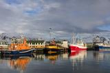 Fishing Vessel in Harbor at Hofn  Iceland