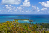 Overlook over the Ile Des Pins  New Caledonia  South Pacific
