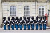Denmark  Zealand  Copenhagen  Amalienborg Palace  Changing of the Guard Ceremony