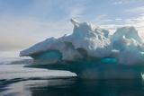 Norway  Barents Sea  Palanderbukta  Zeipelodden Large Iceberg in Palander Bay