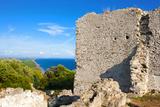 Temple of Acropolis on Capitoline Hill  Tirrenian Vulci's Coast  Grosseto Province  Tuscany  Italy