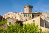 Medieval Fortress  Capalbio  Grosseto Province  Tuscany  Italy