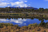 Lake Mistletoe on the Road from Te Anau to Milford Sound  South Island  New Zealand
