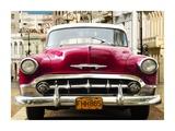 Classic American car in Habana  Cuba