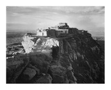 Full view of the city on top of mountain  Walpi  Arizona  1941