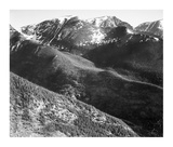 Hills and mountains  in Rocky Mountain National Park  Colorado  ca 1941-1942