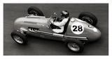 Historical race car at Grand Prix de Monaco