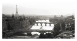 Bridges over the Seine river  Paris