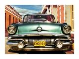 Vintage American car in Habana  Cuba