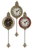 Monarch Wall Clock Trio
