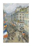 July Fourteenth  Rue Daunou  1910